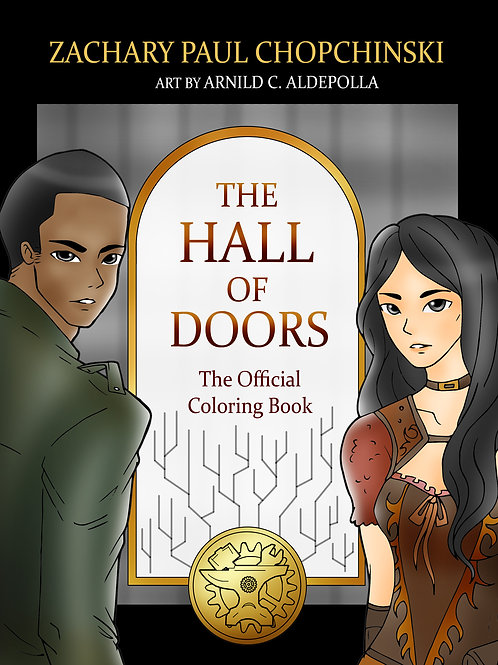 Hall of Doors Coloring Book