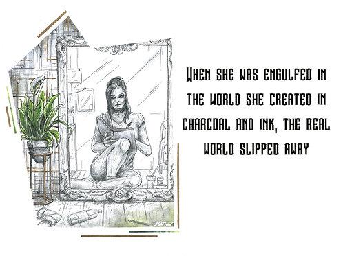 Illustration with Quote- Arija Rapp