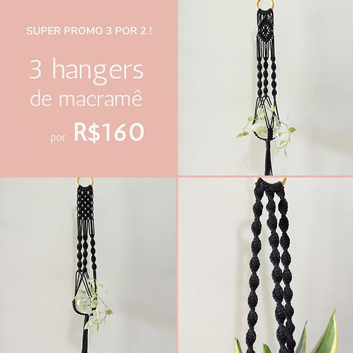 conjunto 3 hangers