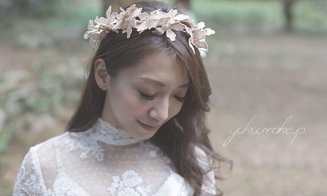 第一次用呢個lace 花環,真的很美呀!每一朵花都可以立體咁扭的!如果有埋微風就