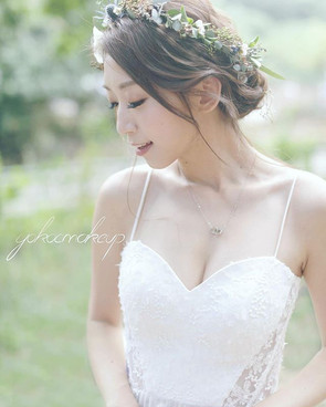 Model _kitychoi _Makeup and hairstyle Yo