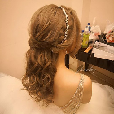 Makeup and hairstyle YokoC_Bride Christy