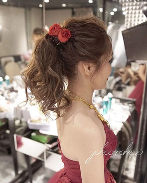 Bride Toby Makeup and hairstyle YokoC_Wh