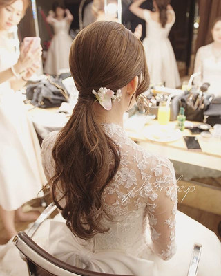 High-end,clean,elegant _Bride Wendy_Make