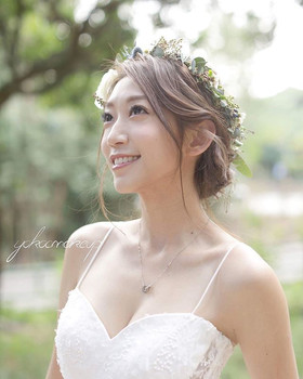 Model _kitychoi _Makeup and hairstyle _y