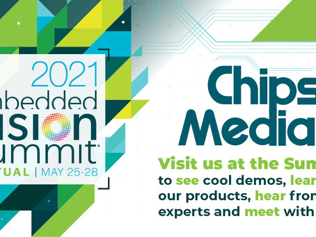 Chips&Media Making its Presence at the 2021 Embedded Vision Summit as an Exhibitor
