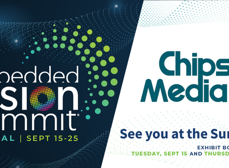 Chips&Media to Exhibit at the 2020 Embedded Vision Summit