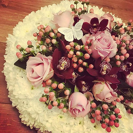 #orchids #floraltributes a beautiful pie