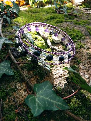 Bracelet trois tours divination