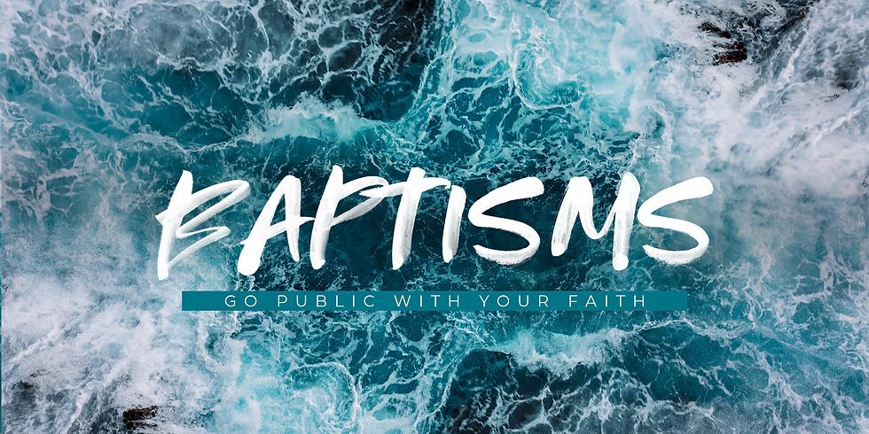 Water Baptism - April 18