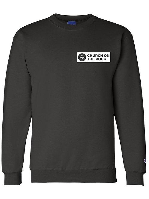 Champion Sweatshirt Black with Logo