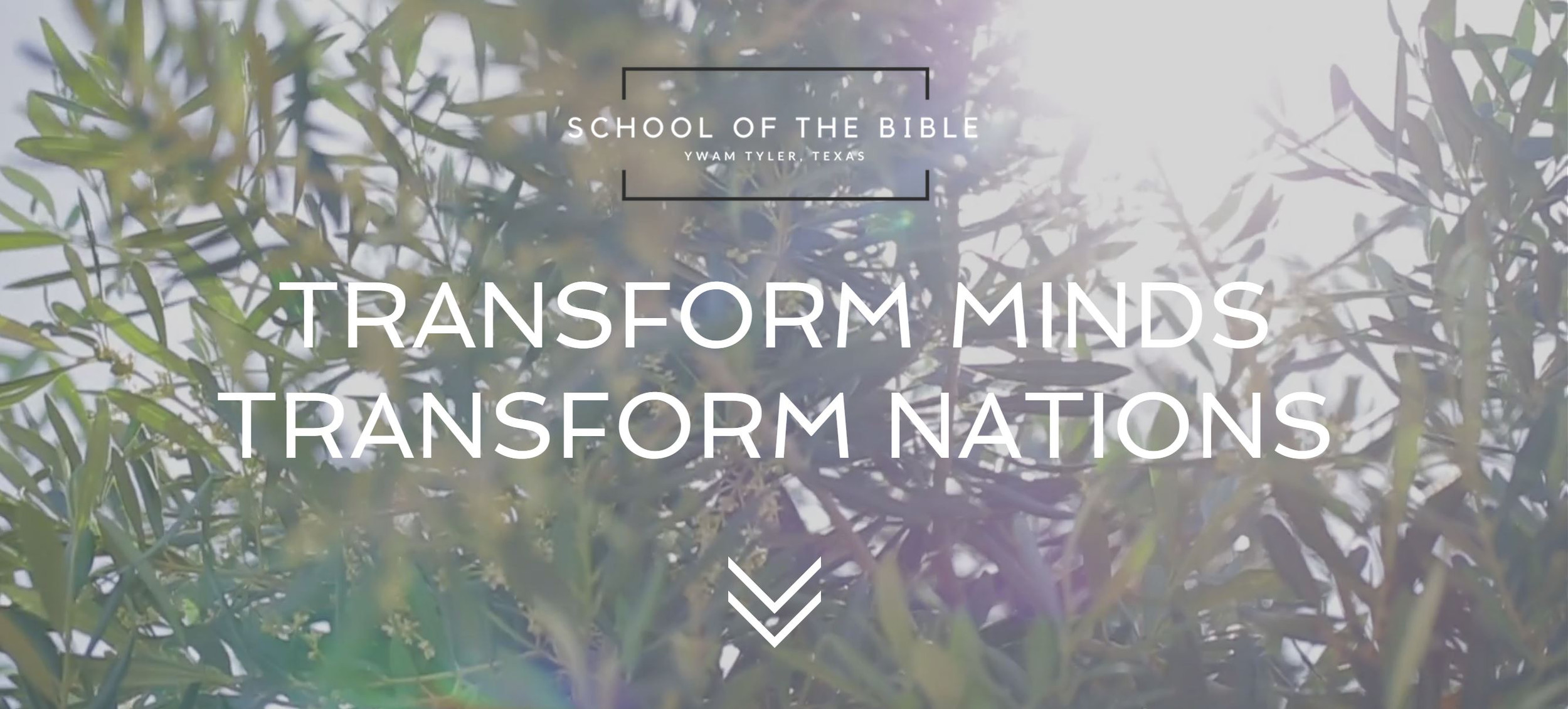 School of the Bible | YWAM Tyler, Texas