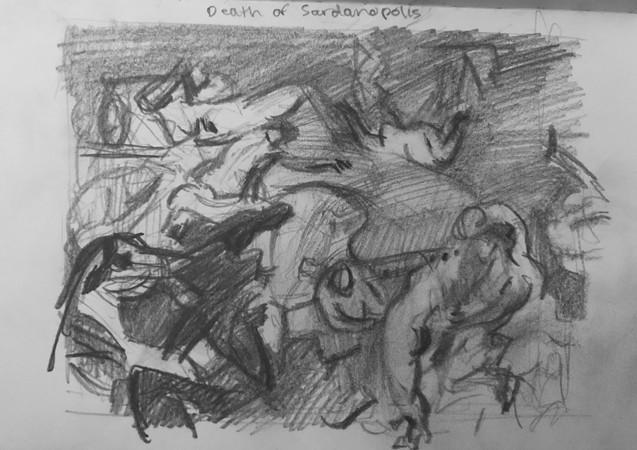 After Delacroix