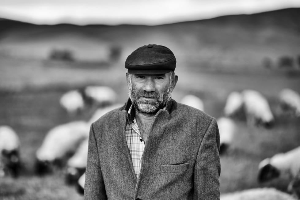 The shepherd, Eastern Anatolia.