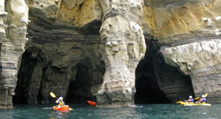 Kayaking in Coves