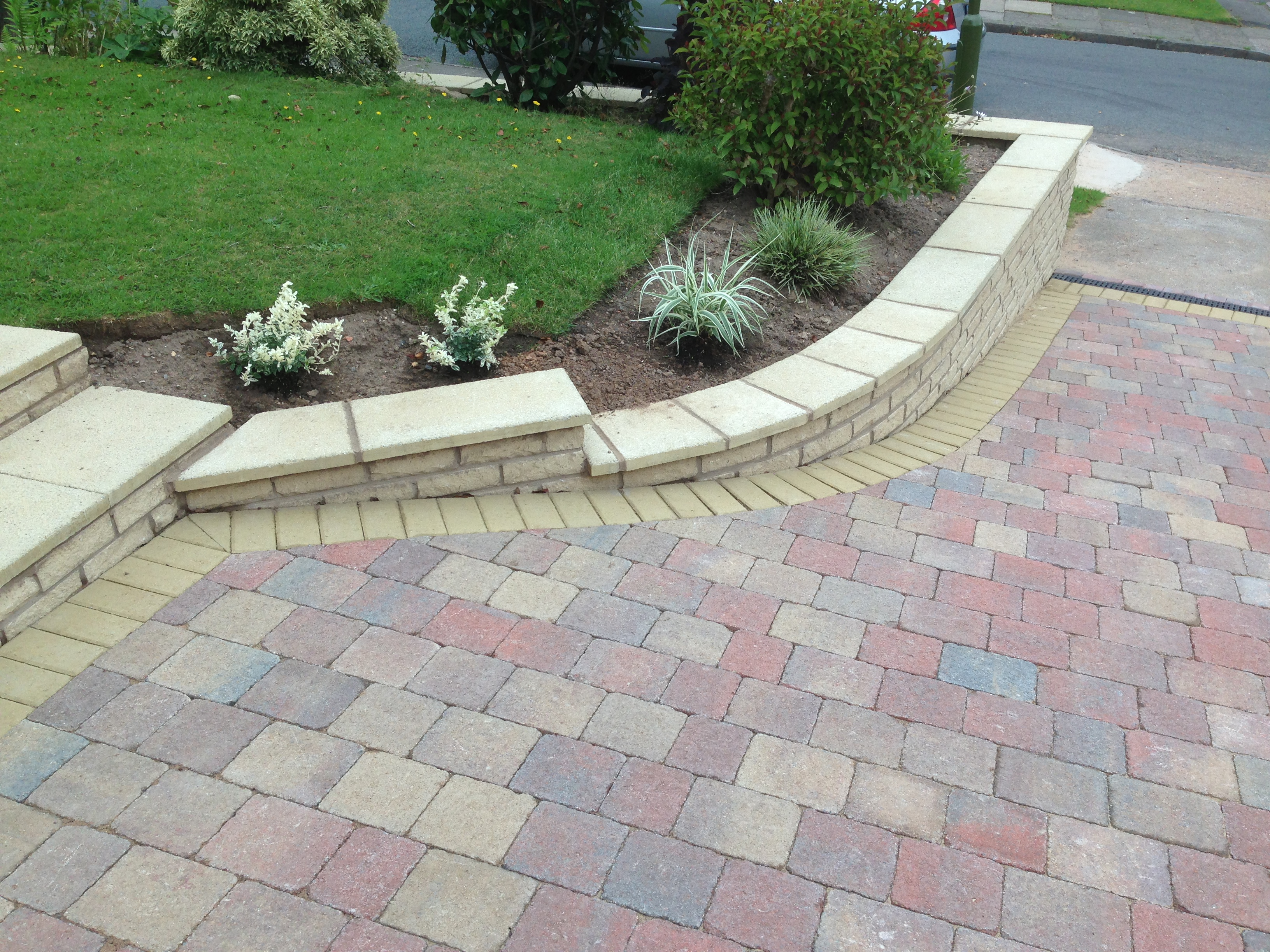 Steps & Block paving