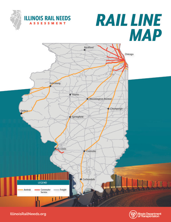 Rail Line Map