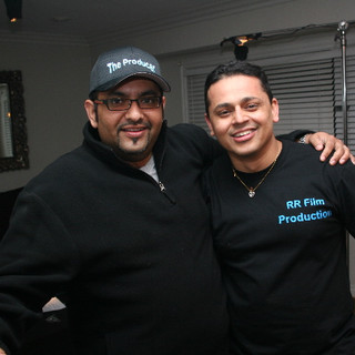 Co-producer Asif and Director/Producer RR