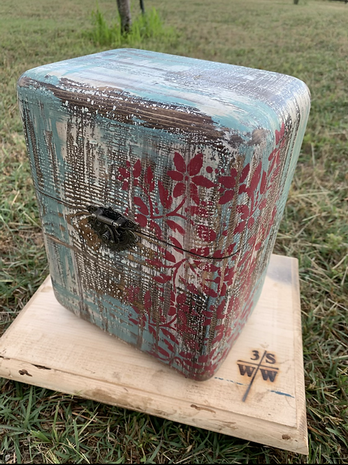 Country Painted Box