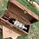 Thumbnail: Wine Box holds Single Bottle w/2Stemless Glasses