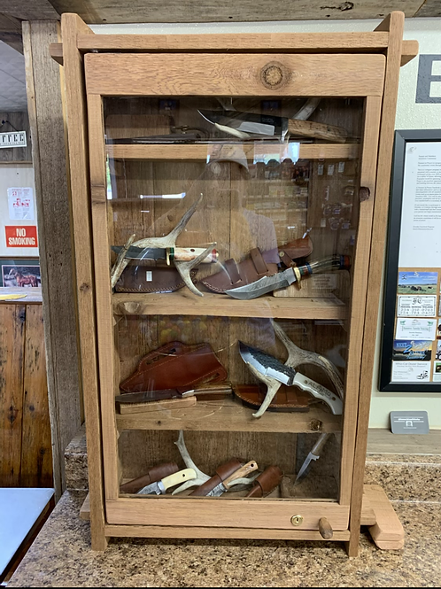 Display Case Cedar