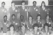 1975-76 Basketball Team - names not incl