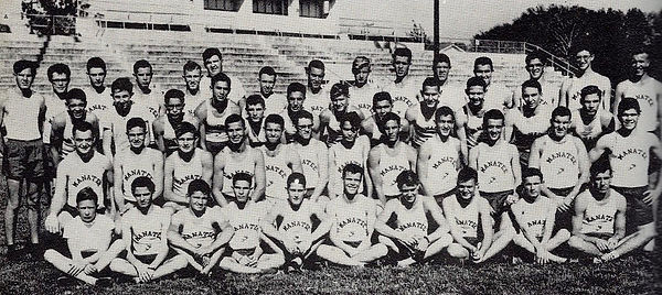 1955 State Championship Track Team witho