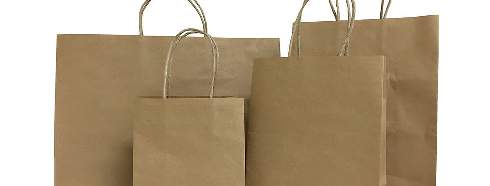 Handled Paper Bags