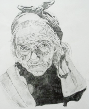 portrait of old woman (2005)
