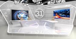 Set design for TV News