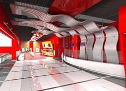 Cinema City, Interior Design