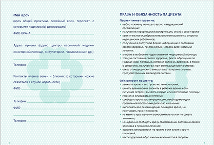 Доброзичлива медицина, Branding, Паспорт пацієнта