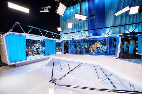 Дизайн ТВ студий, Брендинг