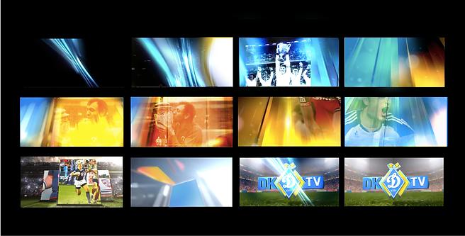 storyboard channel Dynamo TV , Main Title