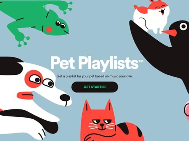 Spotify - Pet Playlist