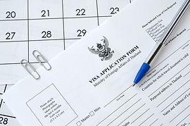 thailand-visa-application-form-blue-pen-