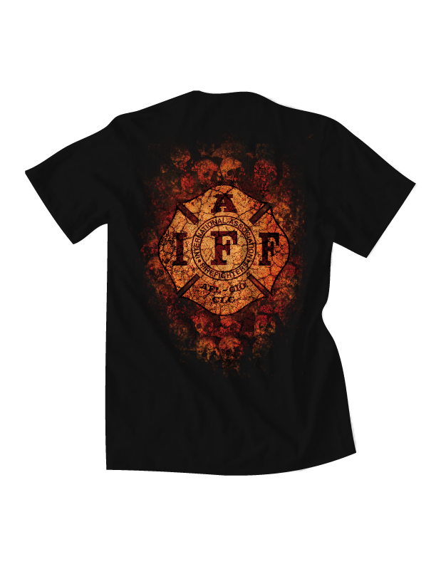 IAFF FIRE FIGHTER TEES