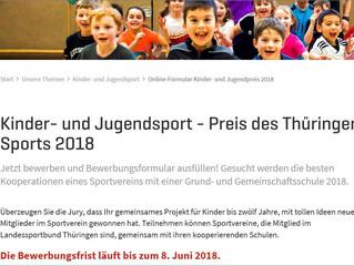 Kinder- und Jugendsport-Preis  2018