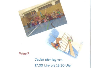 Neues Sportangebot für Kinder  von 4 bis 6 Jahre in Meiningen