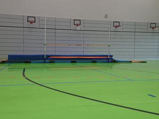Geschlossen! landeseigne Sporthallen