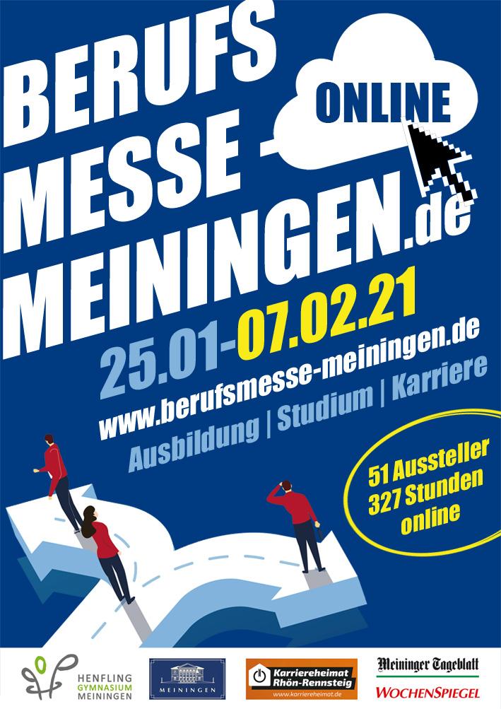 Berufsmesse Online Meiningen am 25.01.2021 - 05.02.2021