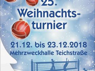 Der Schmalkalder Volleyballverein lädt zum 25. Weihnachtsturnier ein