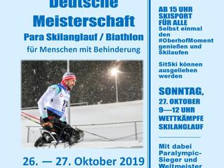 DM im Para Skilanglauf und Para Biathlon