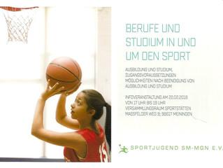 Berufe und Studium in und um den Sport