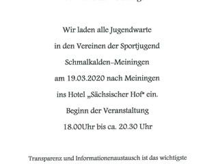Mitgliederversammlung KSJSM Schmalkalden-Meiningen
