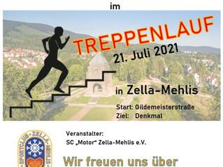 Treppenlauf, Zella-Mehlis 21.07.2021