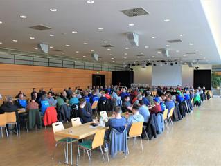 3. Kreisfußballtag / Vorstandswahl / Ehrenamts - Ehrung                           H.Hörnlein und G.