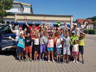 Ferienfreizeit des Schmalkalder Volleyballvereins in Finsterbergen