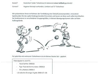 Lehrer Erzieher Fortbildung mit dem Ball / SPIELEN-ERFAHREN-ERLEBEN