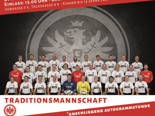 Traditionsmannschaft von Eintracht Frankfurt kommt nach Untermaßfeld